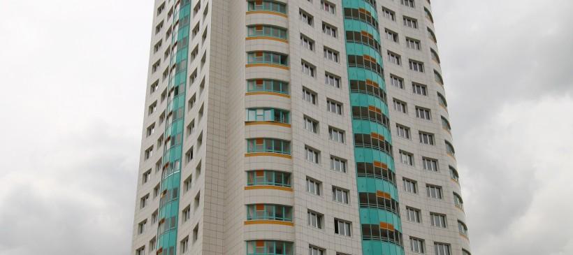 Вентфасады для жилого дома на Дзержинского
