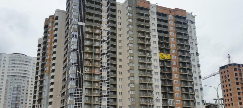Вентфасад жилого дома по ул. Нарочанская