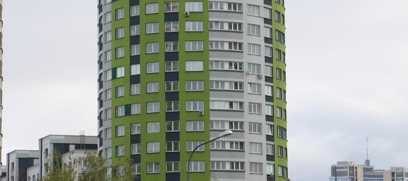 Фасадные работы для жилого дома по ул.Скрыганова, 4Д
