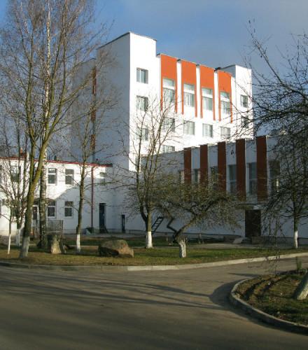 Утепление и отделка фасада: здание Минской очистной станции