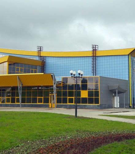 Ледовая арена в г. Шклов: проектирование и поставка вентфасадов