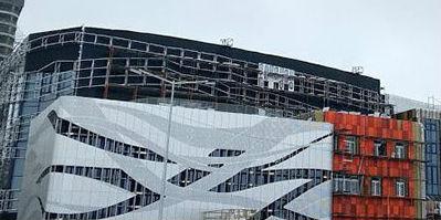 ОДО «Тамирастрой» на строительстве центра олимпийской подготовки по художественной гимнастике