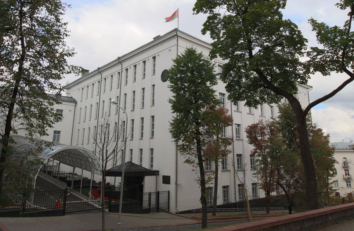 Отделка фасада административного здания по ул. Кирова, Минск