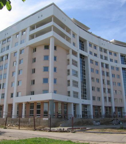 Отделка фасада жилого дома по пр. Рокоссовского 80