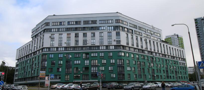 Фасадные работы и утепление фасада жилого дома по ул.Кальварийская 1