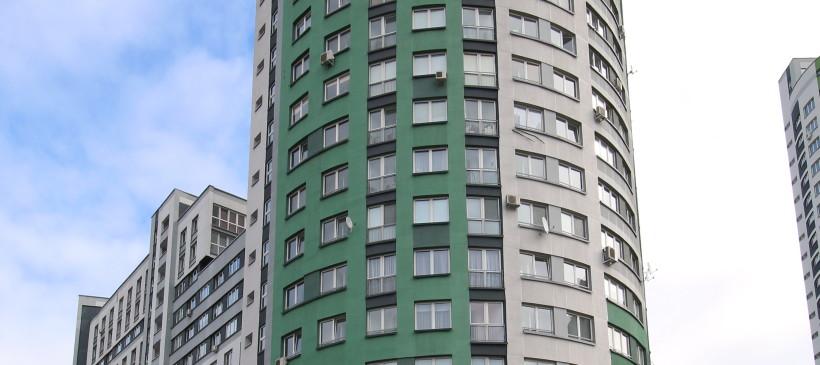 Фасадные работы для жилого дома по ул.Скрыганова, 4А