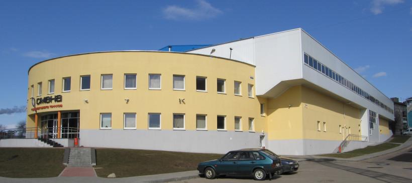 Фасадные работы и утепление фасада: теннисные корты по пер.Козлова, 15