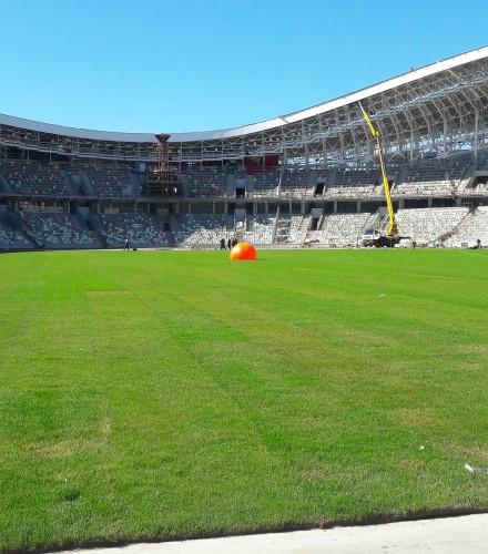 «Тамирастрой»: работы по реконструкции стадиона «Динамо» в  Минске
